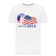 T-Shirts ~ Men's Premium T-Shirt ~ hillary 2016 T-Shirts
