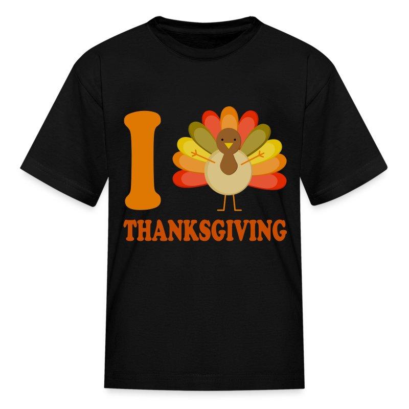 Thanksgiving cute turkey t shirt spreadshirt for Shirts made in turkey