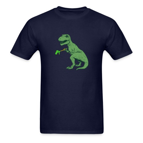 Unstoppable T-Rex - Men's T-Shirt
