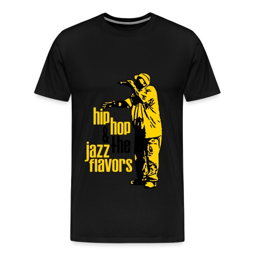 Hip Hop & The Jazz Flavors - Men's Premium T-Shirt