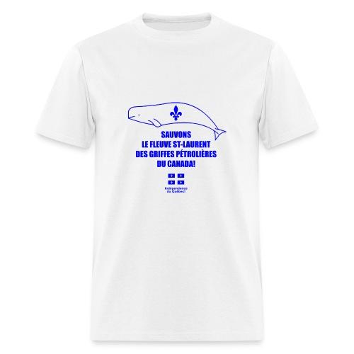 Sauvons le St-Laurent! - Men's T-Shirt