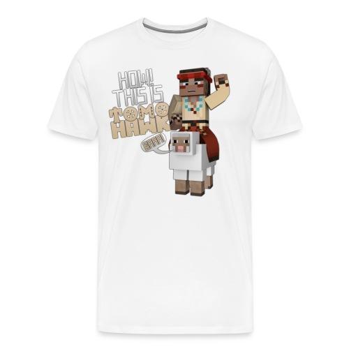 Tomohawk & Wooly - Men's Premium T-Shirt