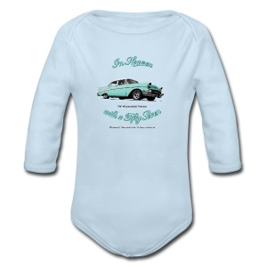 Baby Long Sleeve One Piece | 57 Chevy Belair | Classic American Automotive - Long Sleeve Baby Bodysuit