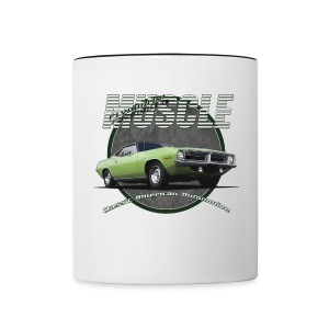 Contrast Coffee Mug | Plymouth Muscle | Classic American Automotive - Contrast Coffee Mug