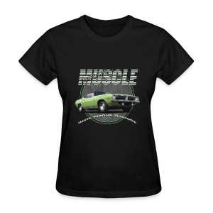 Women's T-Shirt | Plymouth Muscle | Classic American Automotive - Women's T-Shirt