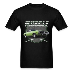 Men's T-Shirt | Plymouth Muscle | Classic American Automotive - Men's T-Shirt