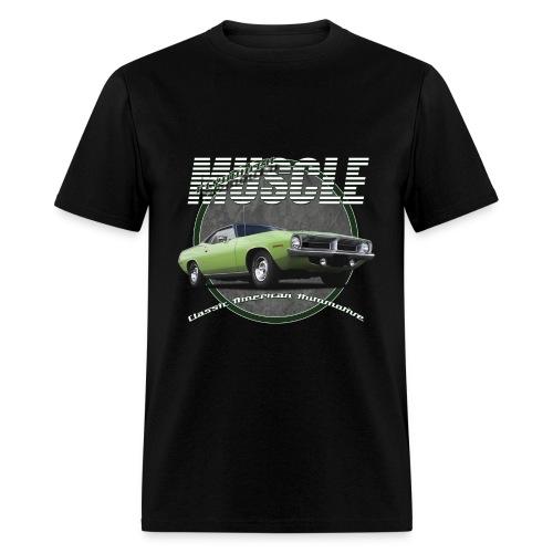 Men's T-Shirt | Plymouth Muscle | Classic American Automotive - Men's T-Shirt