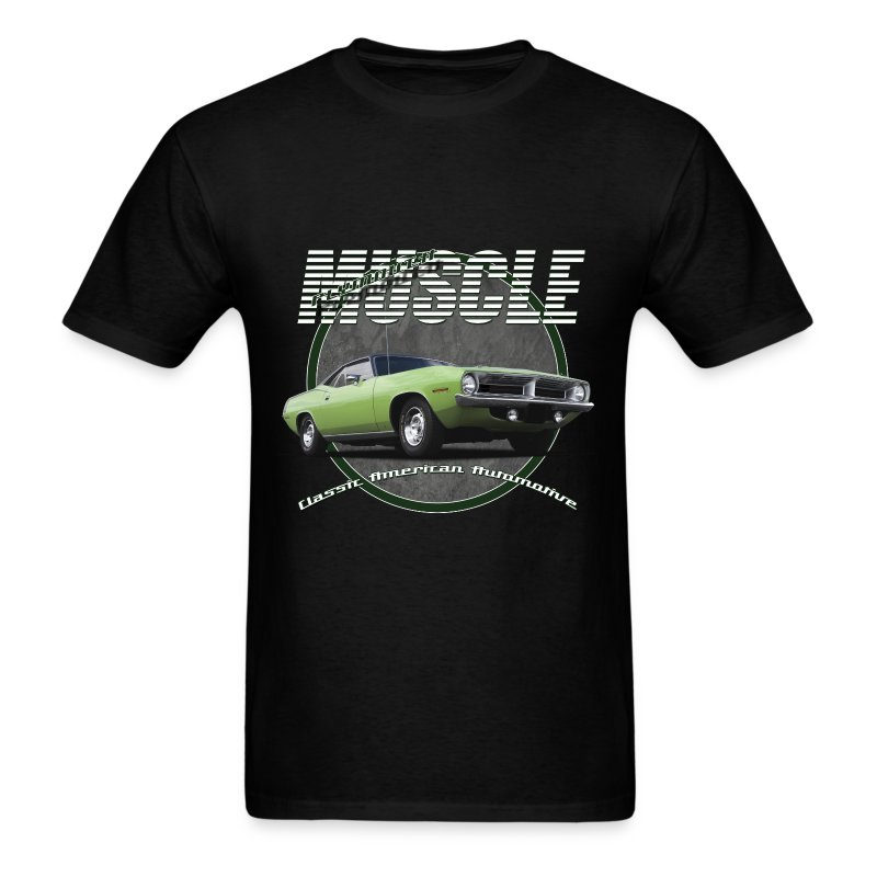 Plymouth muscle t shirt spreadshirt for All american classic shirt