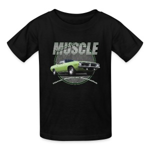 Kids'  T-Shirt | Plymouth Muscle | Classic American Automotive - Kids' T-Shirt