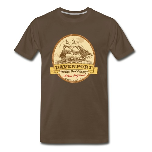 Alien Isolation - Davenport Rye - Men's Premium T-Shirt