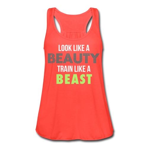 Train Like a Beast Tank - Women's Flowy Tank Top by Bella