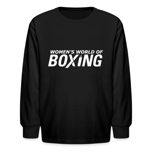 Kids' Long Sleeve T-Shirt - Boxing T-Shirts,Boxing Tee Shirts,Case,Custom Made T-Shirts,Custom Made Tee Shirts,Gifts,No Bully Zone,Novelty T-Shirts,Personalized T-Shirts,Personalized Tee Shirts,Women's T-Shirts,Women's Tee Shirts,iPad,iPhone