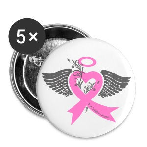 I've held an angel (breast Cancer) - Small Buttons