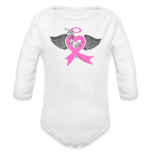I've held an Angel - Organic Long Sleeve Baby Bodysuit