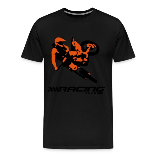MotoCross Racing T-Shirt - Men's Premium T-Shirt