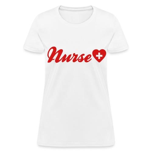 Nurse (6IP on Sleeve) - Women's T-Shirt