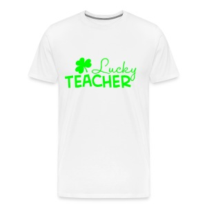 Lucky Teacher Mens - Men's Premium T-Shirt