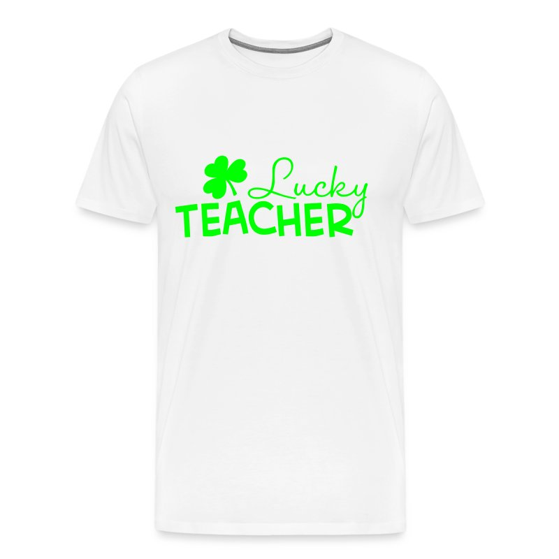 Lucky Teacher Mens - Men's Premium T-Shirt