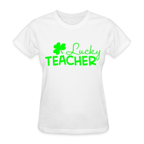 Lucky Teacher - Women's T-Shirt