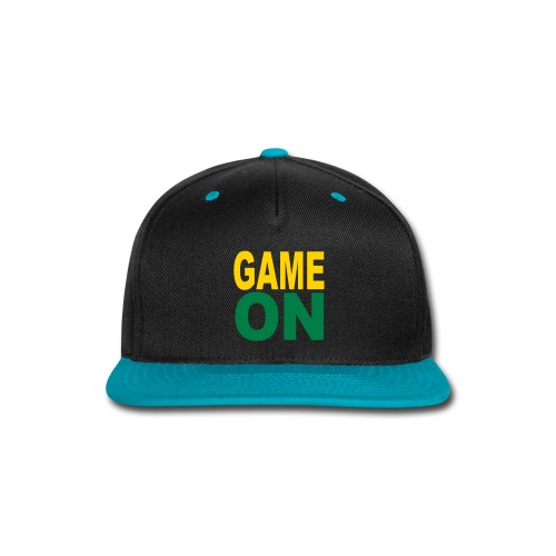GAME ON HAT - Snap-back Baseball Cap