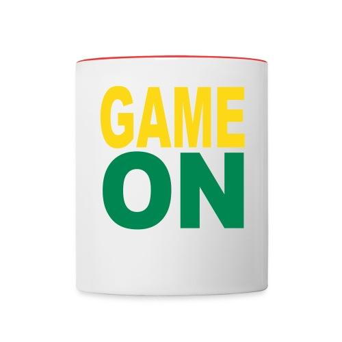 GAME ON MUG - Contrast Coffee Mug