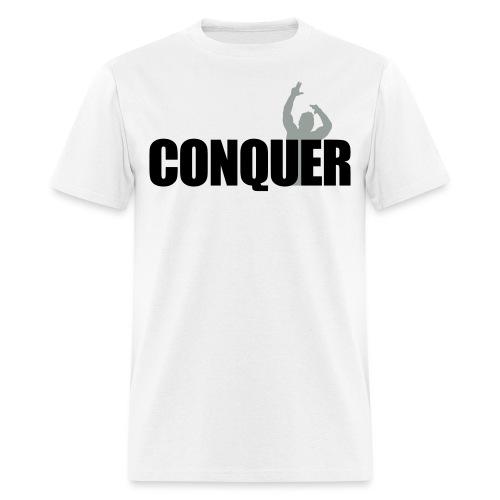 Zyzz T-Shirt Conquer - Men's T-Shirt