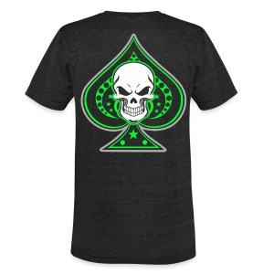 Invictus Spade - Unisex Tri-Blend T-Shirt by American Apparel