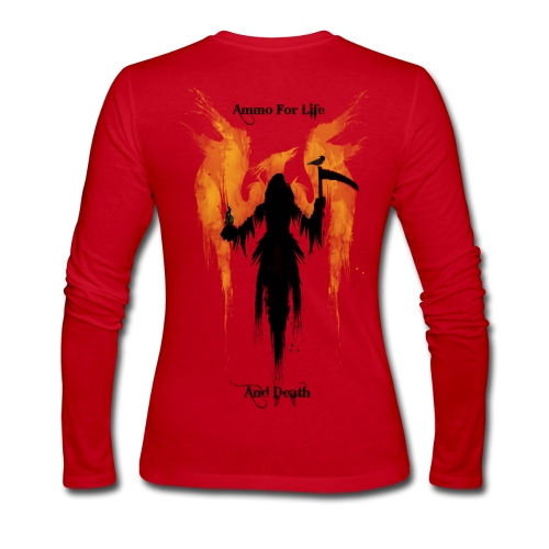 Women's Punish Thy Enemy Long Sleeve - Women's Long Sleeve Jersey T-Shirt