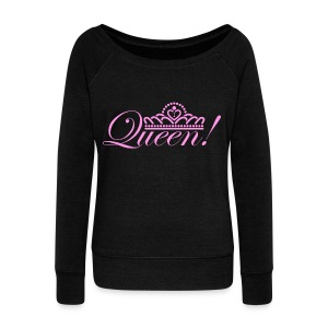 Queen Women's Wideneck Sweatshirt - Women's Wideneck Sweatshirt