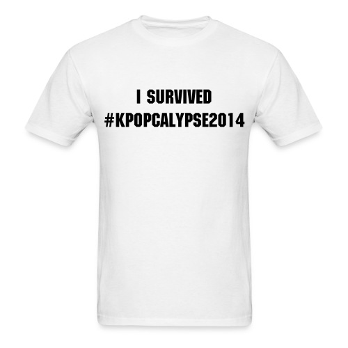 I Survived #Kpopcalypse2014 - Men's T-Shirt
