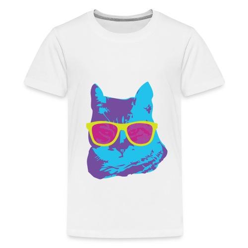 Kids Funky Cat Top - Kids' Premium T-Shirt