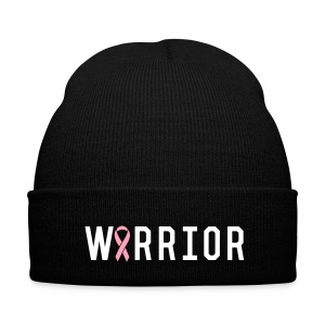 Team TKO Cancer Warrior Nit Cap - Knit Cap with Cuff Print