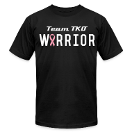 T-Shirts ~ Men's T-Shirt by American Apparel ~ Team TKO Cancer Warrior T-Shirt 2
