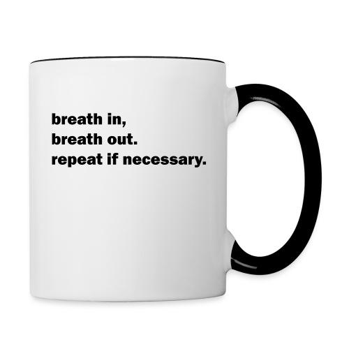 Relax! ;) - Contrast Coffee Mug