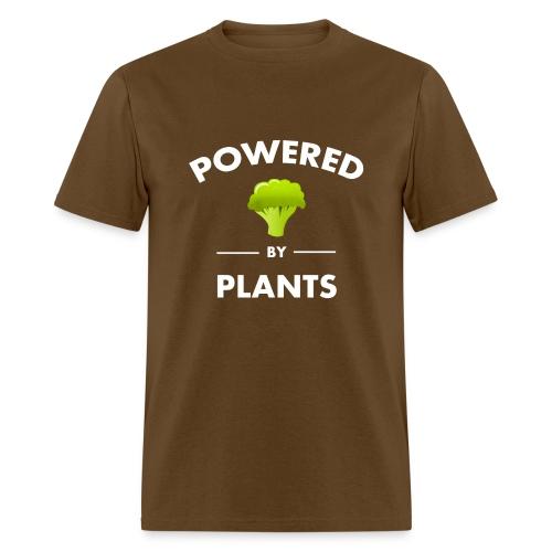 Powered by plants t shirt - Men's T-Shirt