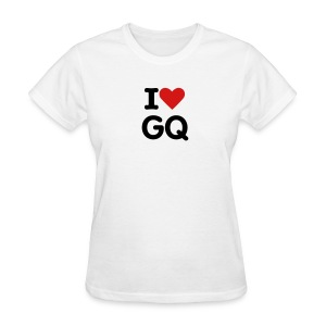 I Heart Gabe Quinn (white) - Women's T-Shirt