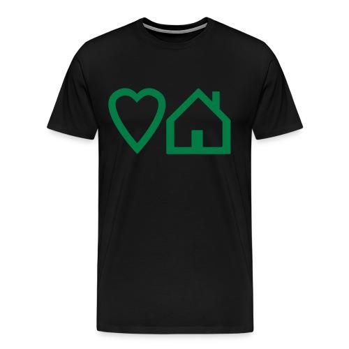 Love House T-shirt - Men's Premium T-Shirt