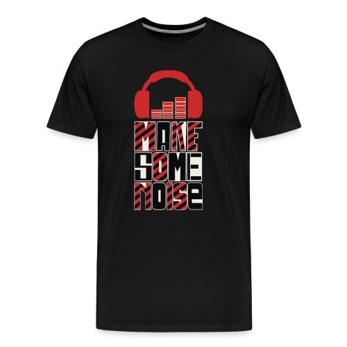 Headphone equalizer T-shirt - Men's Premium T-Shirt