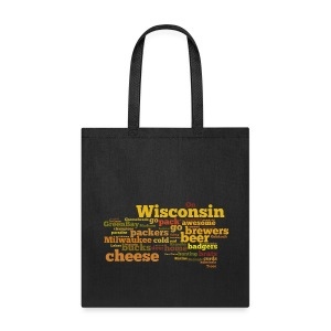 Wisconsin Words - Tote Bag