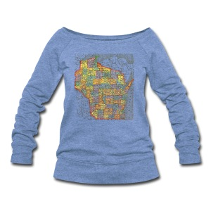 Wisconsin 1895 - Women's Wideneck Sweatshirt