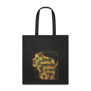 Wisconsin 1895 - Tote Bag