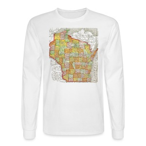 Wisconsin 1895 - Men's Long Sleeve T-Shirt