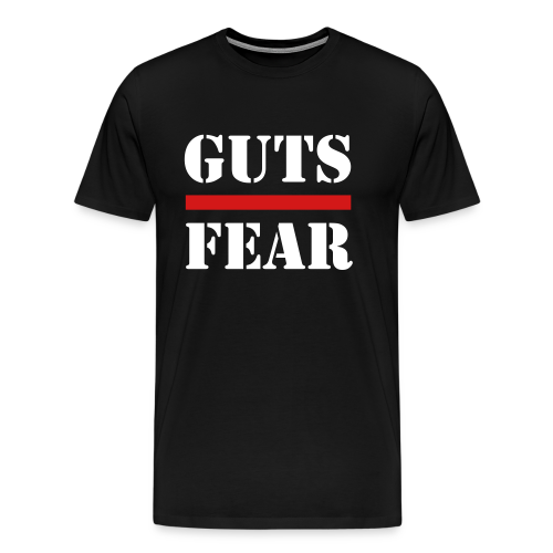 Guts Over Fear - Men's Premium T-Shirt