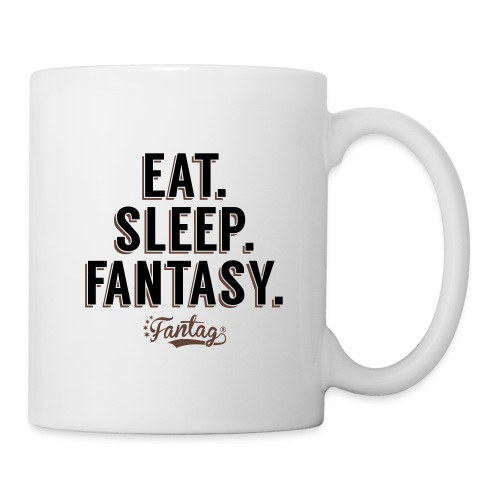 Eat. Sleep. Fantasy Coffee Mug - Coffee/Tea Mug
