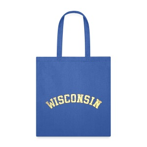 Wisconsin Distress - Tote Bag