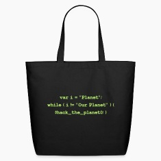 Hackers: Hack The Planet (Front) Bags & backpacks