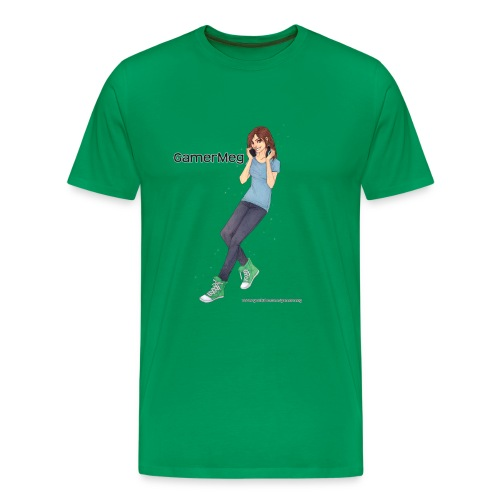 GamerMeg Icon Official Men's T-Shirt - Men's Premium T-Shirt