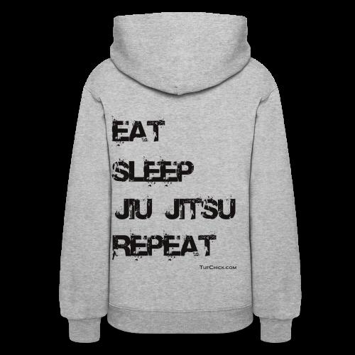 Eat Sleep Jiu Jitsu Repeat - bw - TC - Women's Hoodie - Women's Hoodie