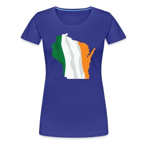 Wisconsin Irish - Women's Premium T-Shirt