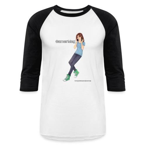 GamerMeg Official Icon Baseball T-Shirt (men's) - Baseball T-Shirt